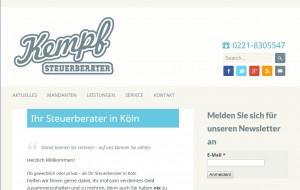 Steuerberatung private und gewerbliche Mandanten - Steuerberater Kempf, Köln