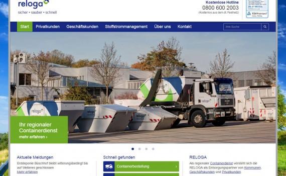 Reloga GmbH, Leverkusen - Containerdienst und Abfallentsorgung