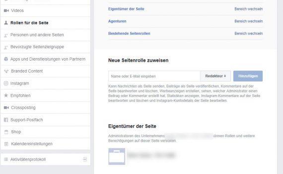 Facebook Zugriff durch Business Manager: Anschließend sollte Eure Agentur sichtbar sein unter Agenturen