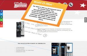 kaffeeautomat europa - verboten große auswahl an gerichten am kaffeeaut-o-mat von koelner automaten aufsteller
