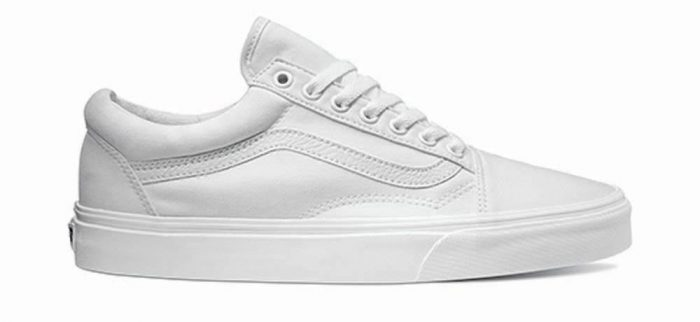 Skater Schuhe Vans Old Skool True White
