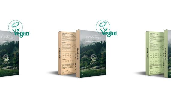 Beaudiani Aroma Masken. Vegane koreanische Kosmetik
