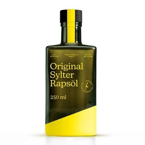 original sylter rapsoel online kaufen. kaltgepresst flasche produkt