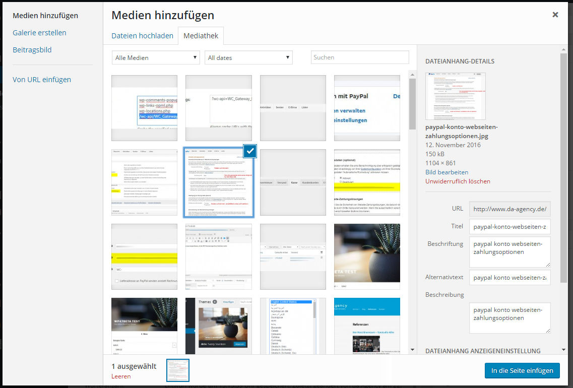 neue-seite-erstellen-bild-einfuegen-media-library